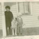 Wayne and Milton as kids